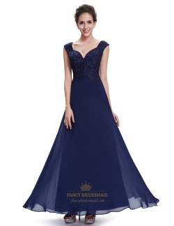 Modern Lace Long Bridesmaid Dresses Lace Long Bridesmaid Dresses Dfw Lace Bodice Navy Blue Cap Sleeves Chiffon Long Bridesmaid Dresses Navy Blue Cap Sleeves Chiffon Long Bridesmaid Dresses