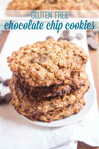 Gluten Free Chocolate Chip Cookies Recipe | Healthy and Easy