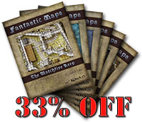 Fantasy map pack bundle with kobold Quarterly
