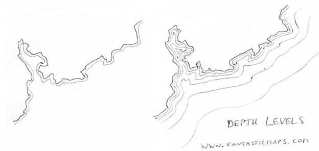 How to draw coastlines