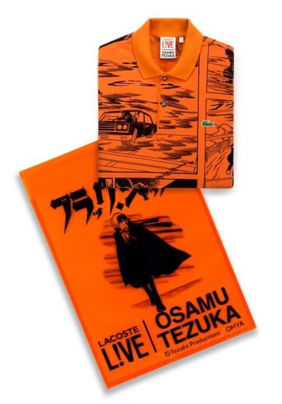 Lacoste L!ve x Osamu Tezuka