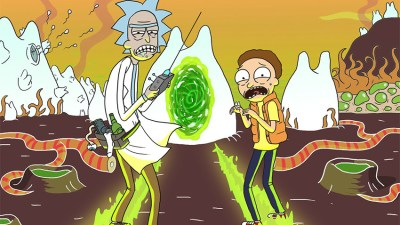 "Fantastic Serie. ""Rick & Morty"""