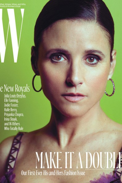 Julia Louise-Dreyfus / New Royals @ W Magazine