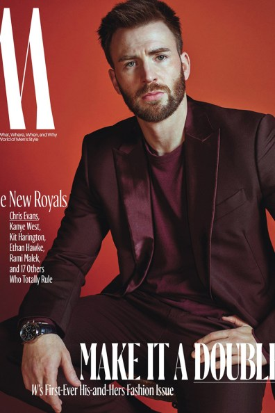 Chris Evans / New Royals @ W Magazine