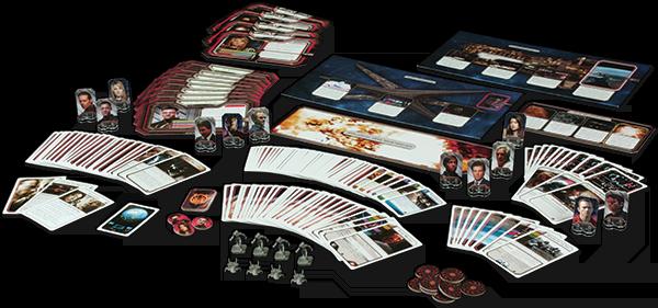 Componentes de Battlestar Galactica: Expansión Amanecer