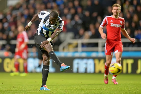 Moussa+Sissoko+Newcastle+West+Bromw+Goal
