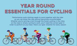 Year round essentials for cycling