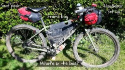 Whats in the bike packing bag