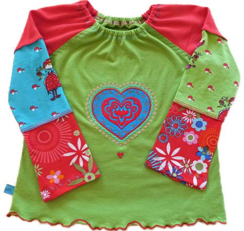 GITTA Schnittmuster farbenmix Shirt