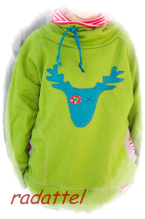 DANAI Schnittmuster Pullover Kuschelpulli Sweater farbenmix