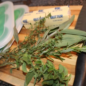 Herb butters…. fresh, real and oh, so yummy!