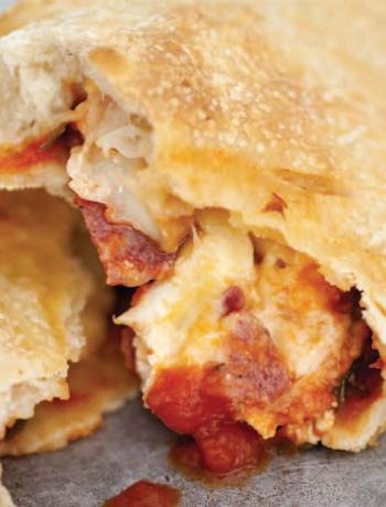 Emeril's Sopressata Calzone Recipe - Click Image to See Post