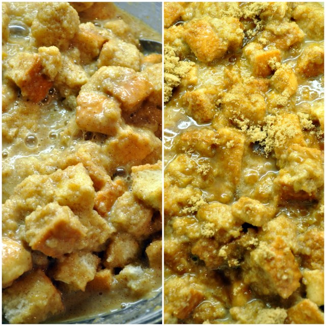 Cinnamon Apple Bread Pudding | farmgirlgourmet.com