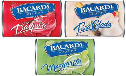 Bacardi Mixers