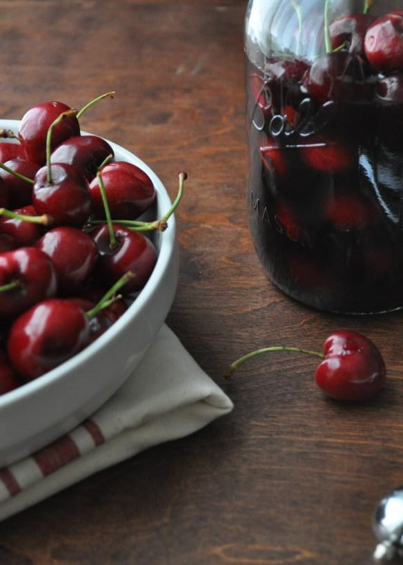 Black Cherry Bourbon Soda | farmgirlgourmet.com