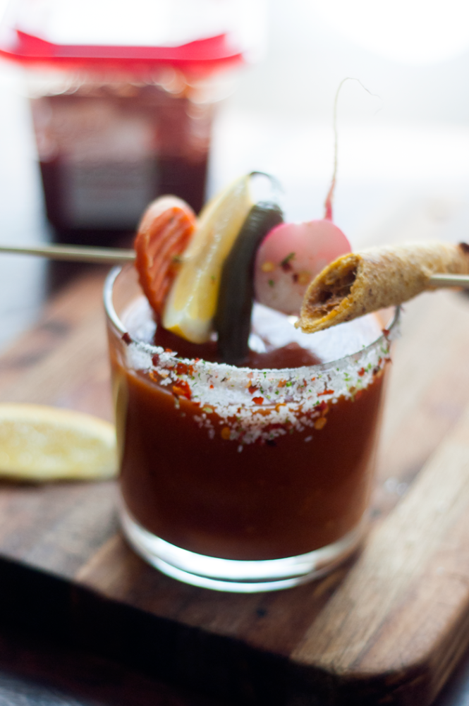 Bloody Maria Cocktail | farmgirlgourmet.com