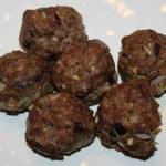 Paleo Italian Meatballs