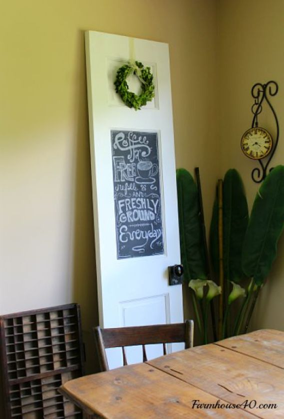 diy-chalk-magnet-board-door