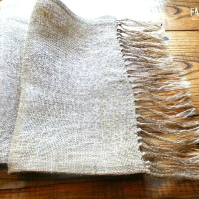 Burlap Table Runner Dress Up Your Table