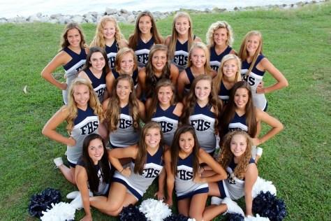 2015 Cheerleaders