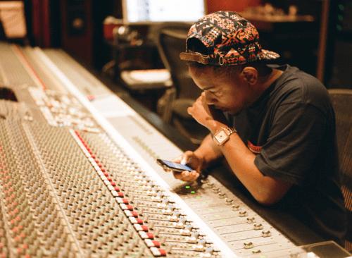 Kendrick+Lamar studio