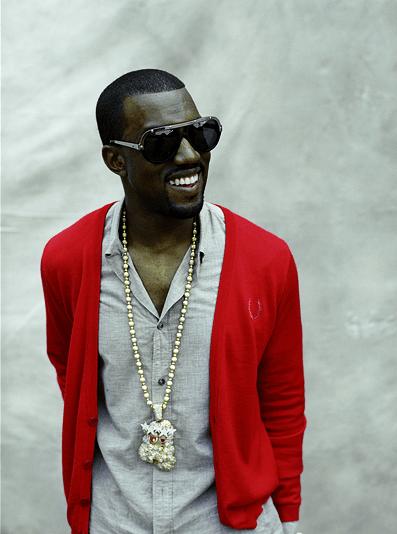 Kanye+West red