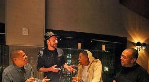 Jay-Z, Nas,Timbaland & Justin Timberlake in the Studio