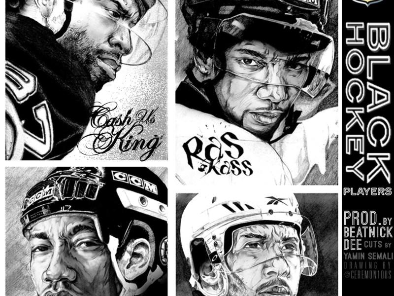 Cashus King Black Hockey Players