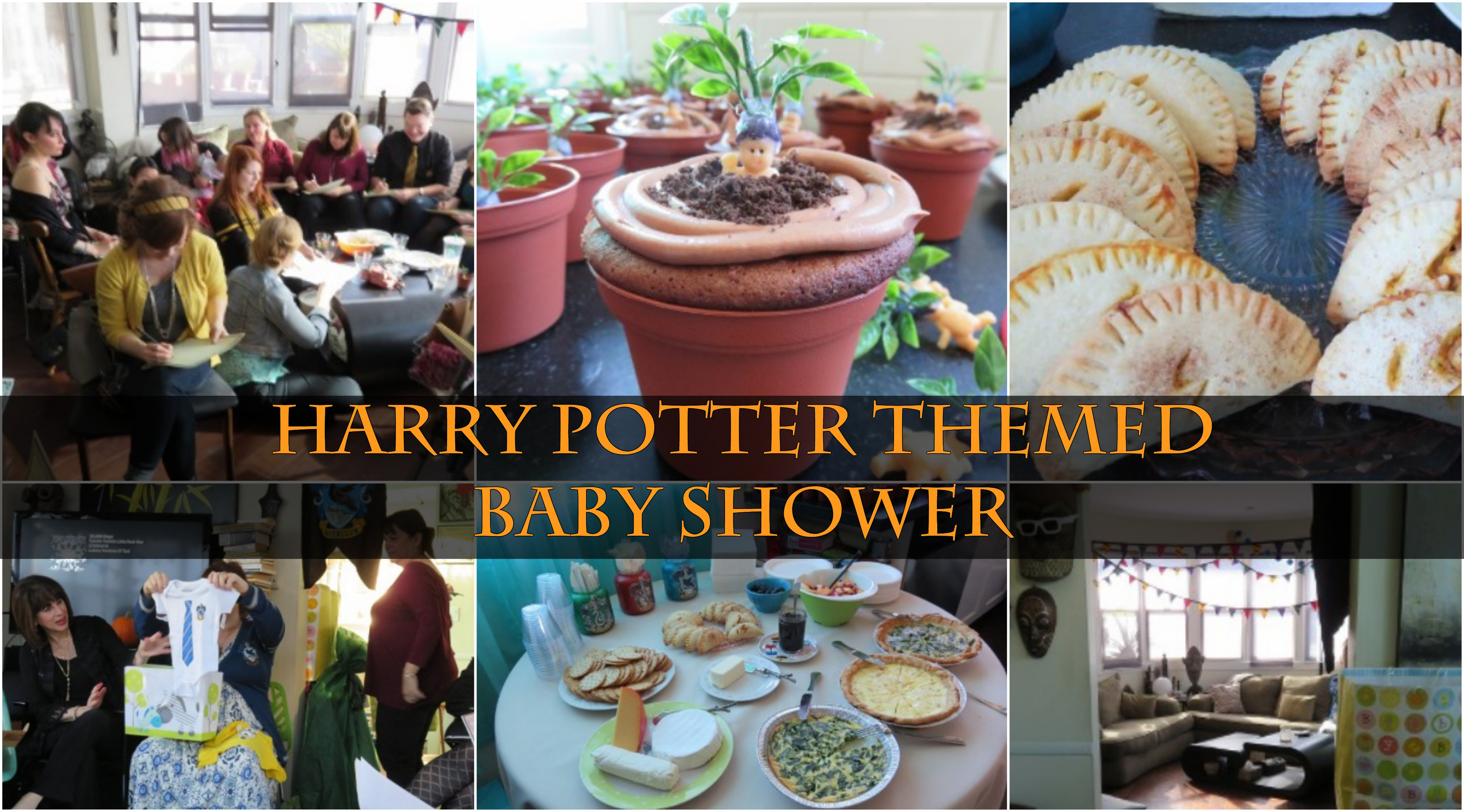 Geek Chic Events: Harry Potter Themed Baby Shower