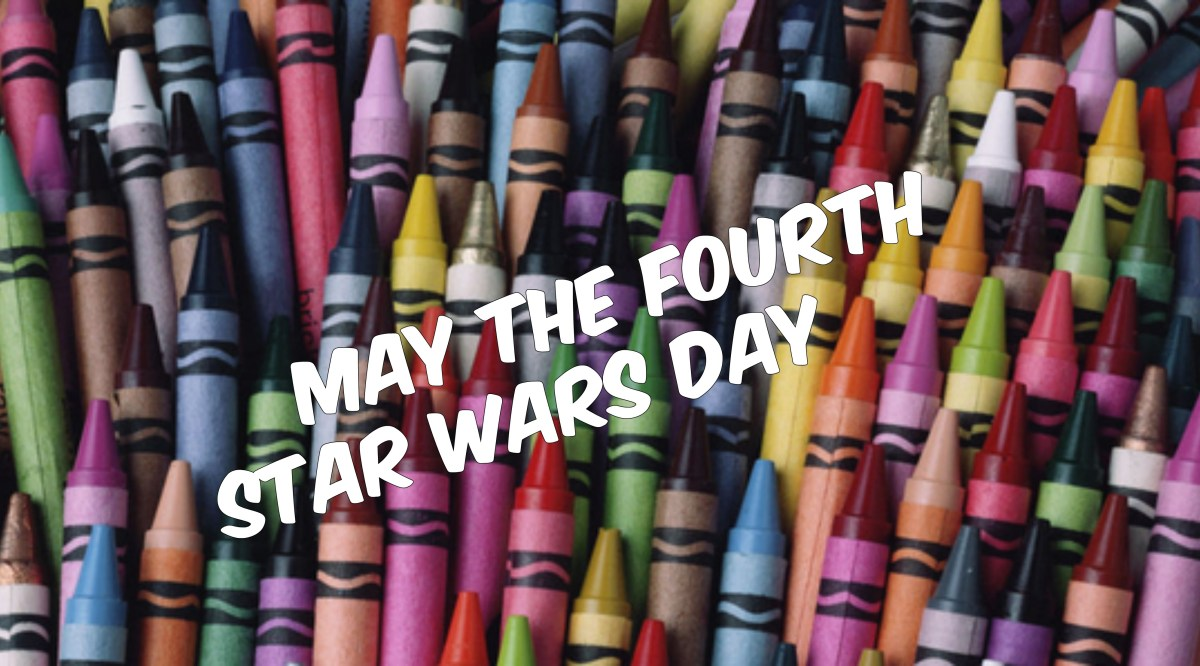 Fashionably Nerdy Family: Star Wars Day! May The Fourth Coloring Sheets!