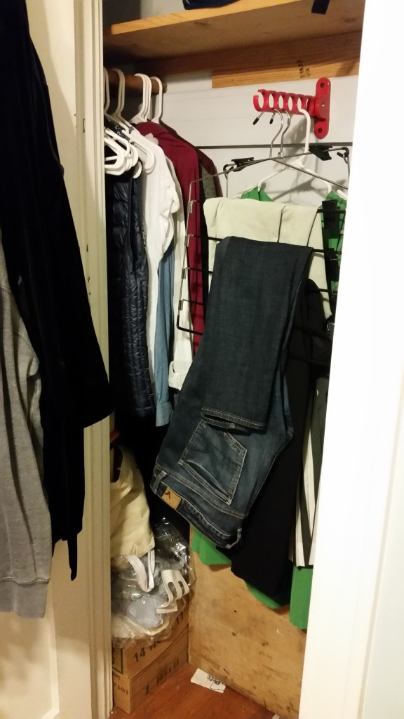 MY ENTIRE CLOSET. LITERALLY THE WHOLE THING.