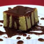 Cheesecake au Philadelphia, sauce Carambars