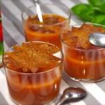 Gazpacho Alvalle et soleils croustillants au poivre