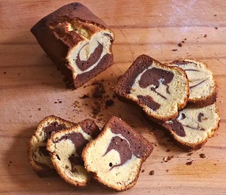 cake marbré façon savane parfait gâteau marbré