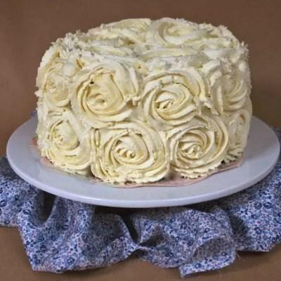 Parfait cheesecake new-yorkais et son glaçage en roses (tuto-vidéo)