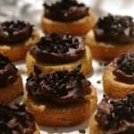 Palets chocolatés à la poudre d'olives