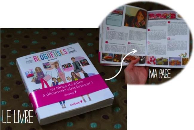 livre génération blogueuses fashion cooking