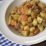 potee pommes de terre carottes lard 150x150 Index des recettes