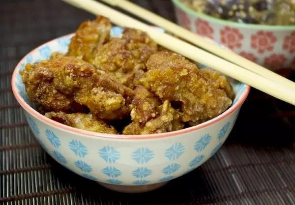 poulet karaage au vinaigre beignets de poulet japonais. Black Bedroom Furniture Sets. Home Design Ideas