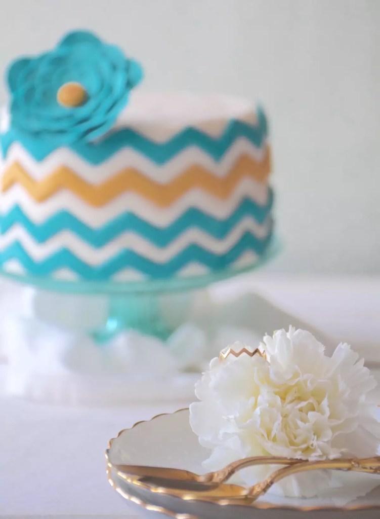 Gâteau chevrons Miami