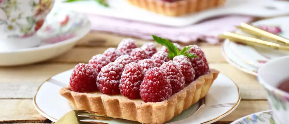 L'acidité des framboises – Tartelettes chocolat blanc framboises