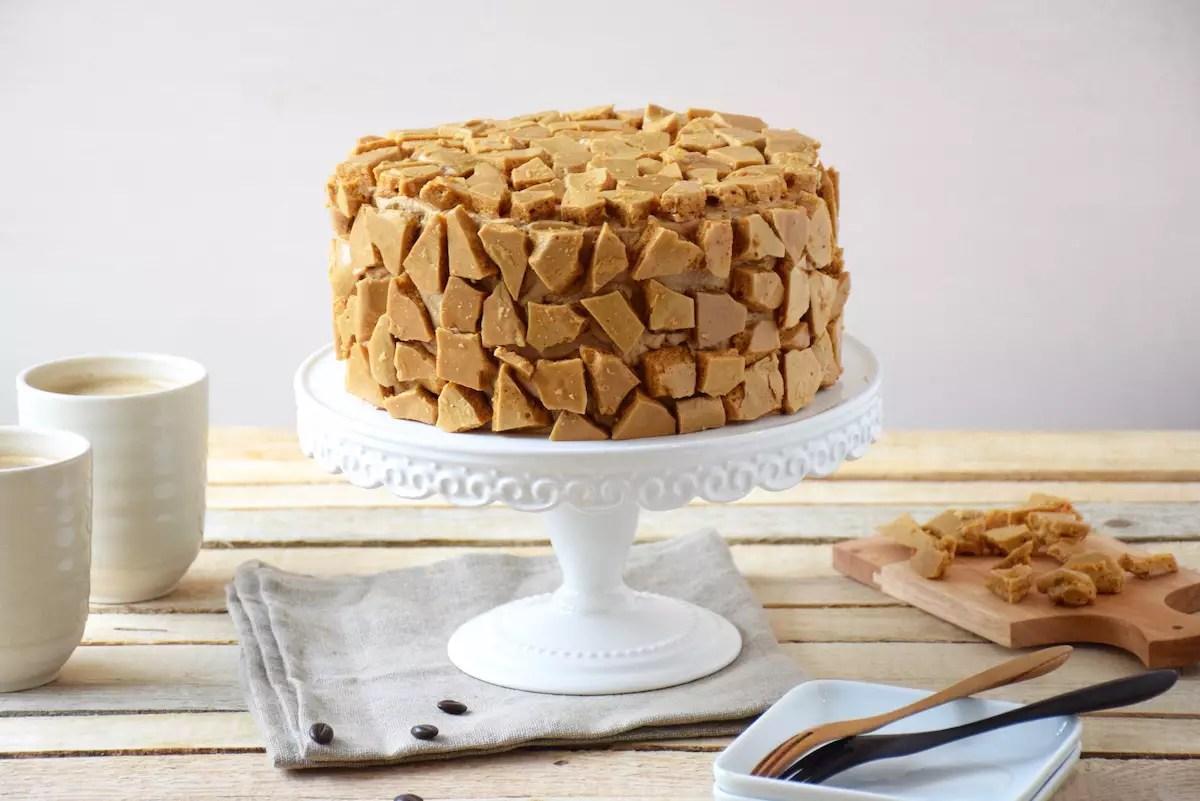 Blum's Coffee crunch cake
