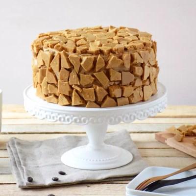 Blum's Coffee Crunch Cake (honeycomb au café)