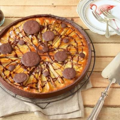 Tarte poires-chocolat