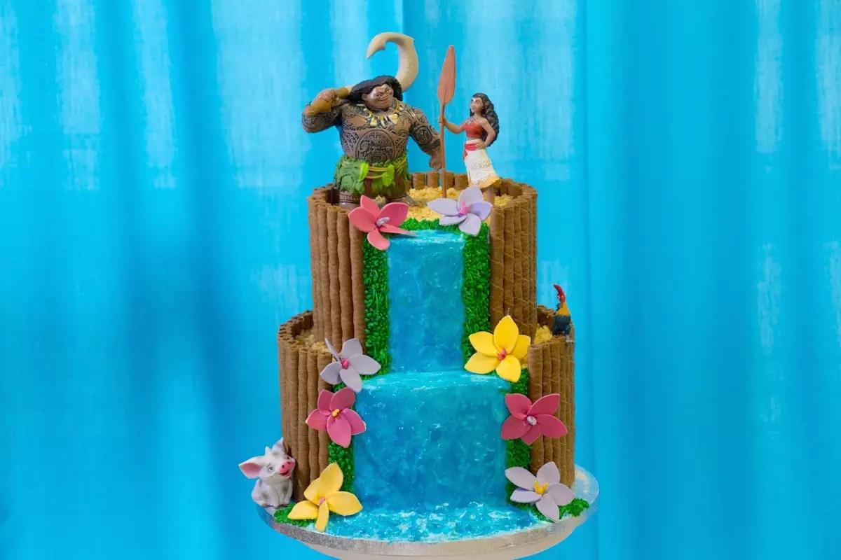 Rainbow Cake Fashion Cooking