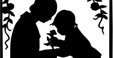 Mother_and_child_silhouette