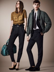 Burberrys Resort 2013 Collection is Tailored for Ease