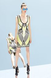 Herve Leger by Max Azrias Resort 2013 Collection is Comic Book Inspired