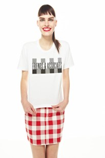 Friends & Associates Offers Gingham Prints for its Spring 2013 Collection