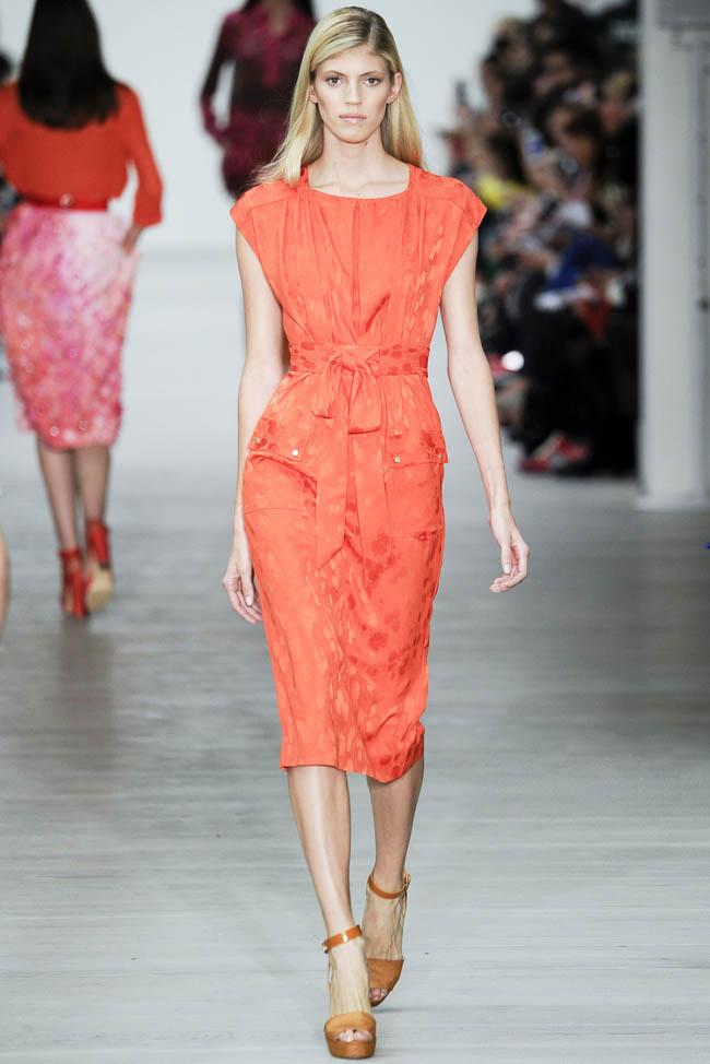 london fashion week matthew williamson Runway spring spring 2014